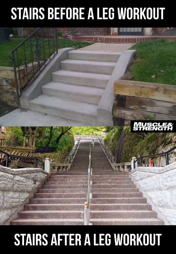 Stairs After Leg Day Quotes Quotesgram