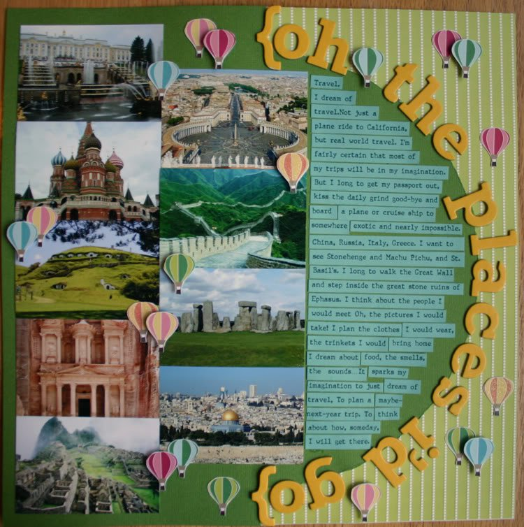 Scrapbooking Quotes About Travel Quotesgram