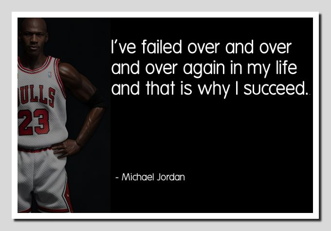 Inspirational Quotes About Failure: Michael Jordan Failure Inspirational Quotes. QuotesGram
