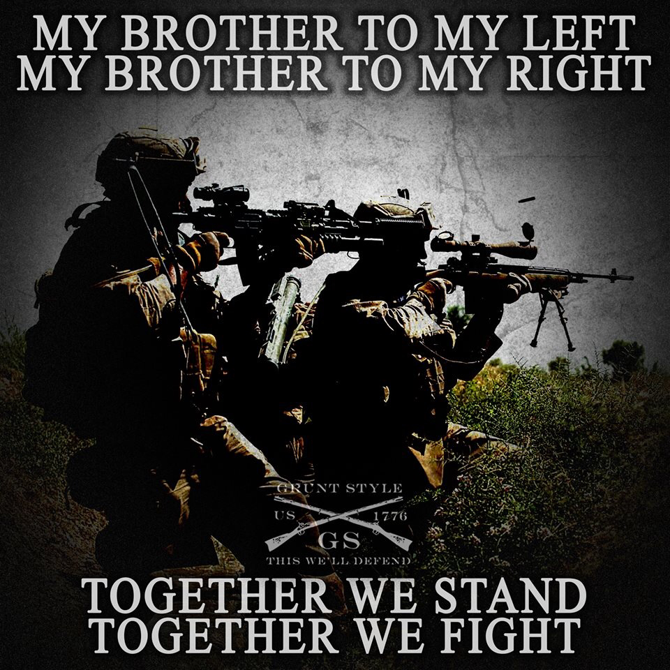 Greatest Military Quotes Of All Time: Army Brotherhood Quotes. QuotesGram