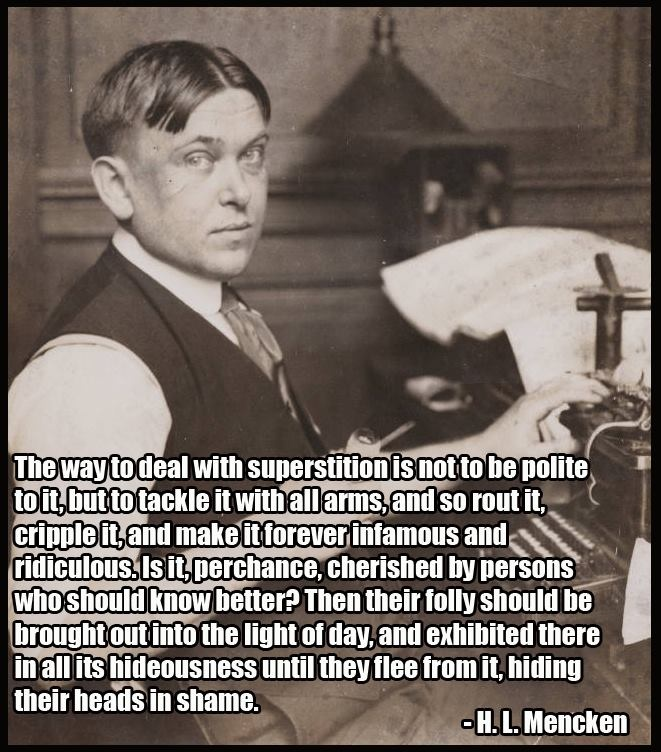 Quote By Hl Mencken: Hl Mencken Religion Quotes. QuotesGram