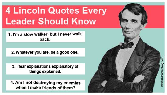 Abraham lincoln as a visionary leader