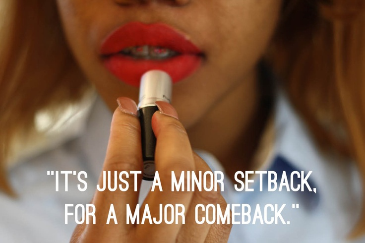 minor setback for a major comeback