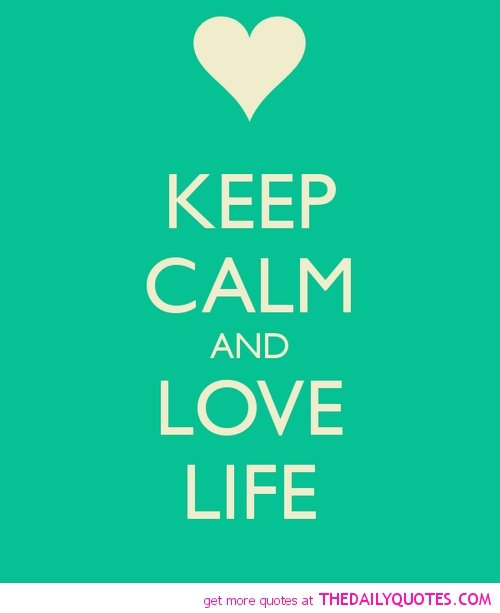 Keep Calm Quotes Love. QuotesGram