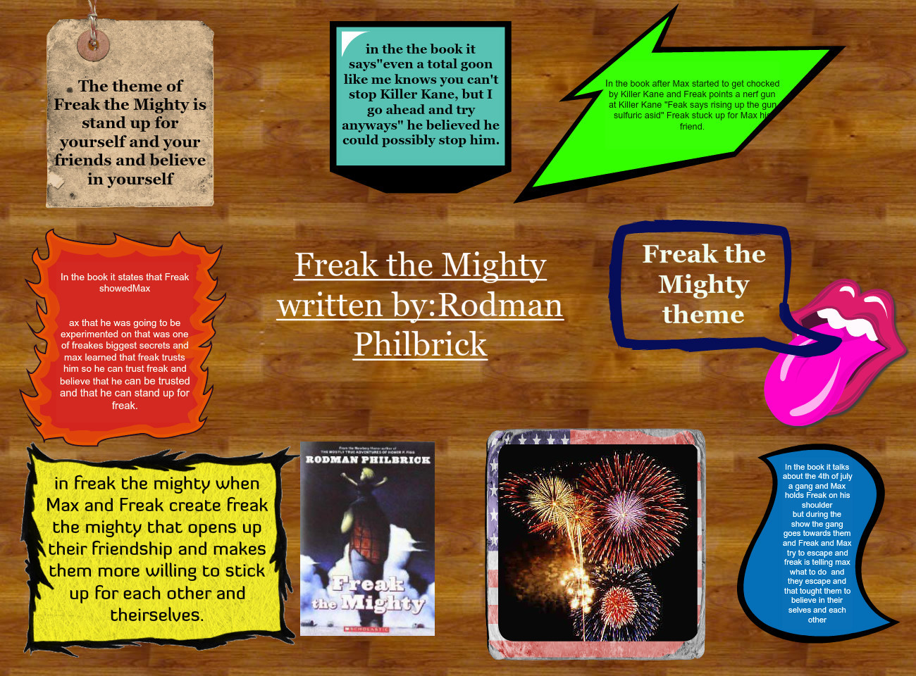 freak the mighty and the mighty Tweetemail tweetemailfreak the mighty by rodman philbrick is an exceptional book by the time max enters eighth grade, he is the size of a full-grown man his.