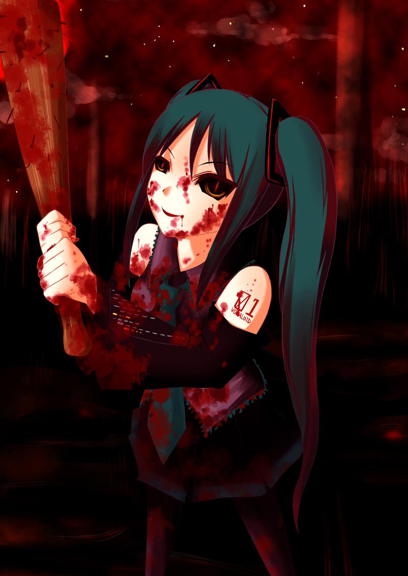 Vampire Drinking Blood Artwork