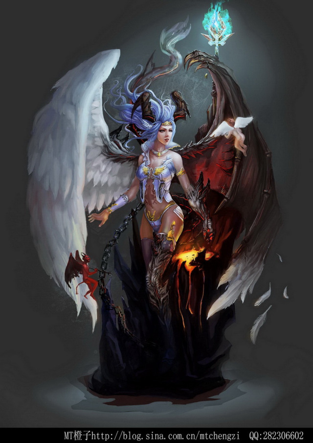 angel and devil girl quotes quotesgram