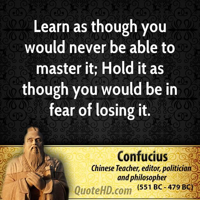 Confucius Fear Quotes. QuotesGram