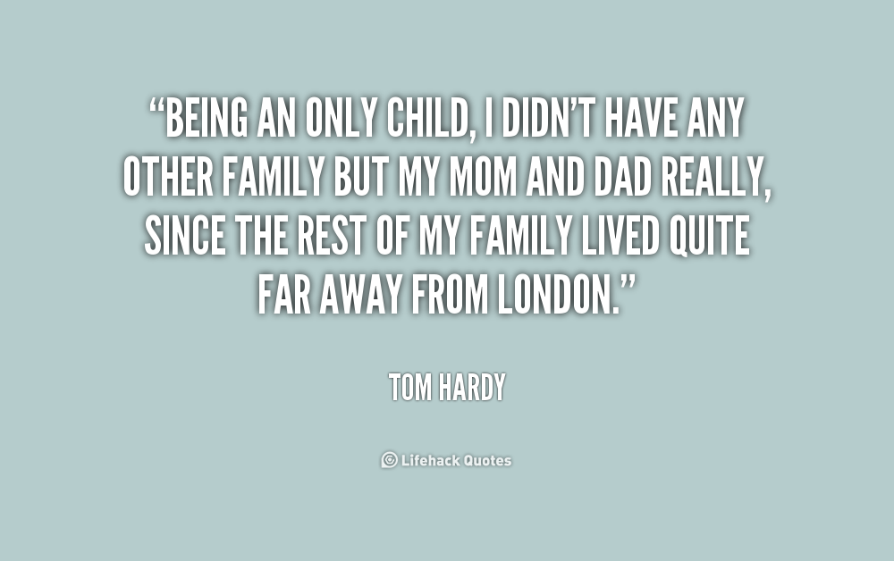 21 Truths About Being An Only Child