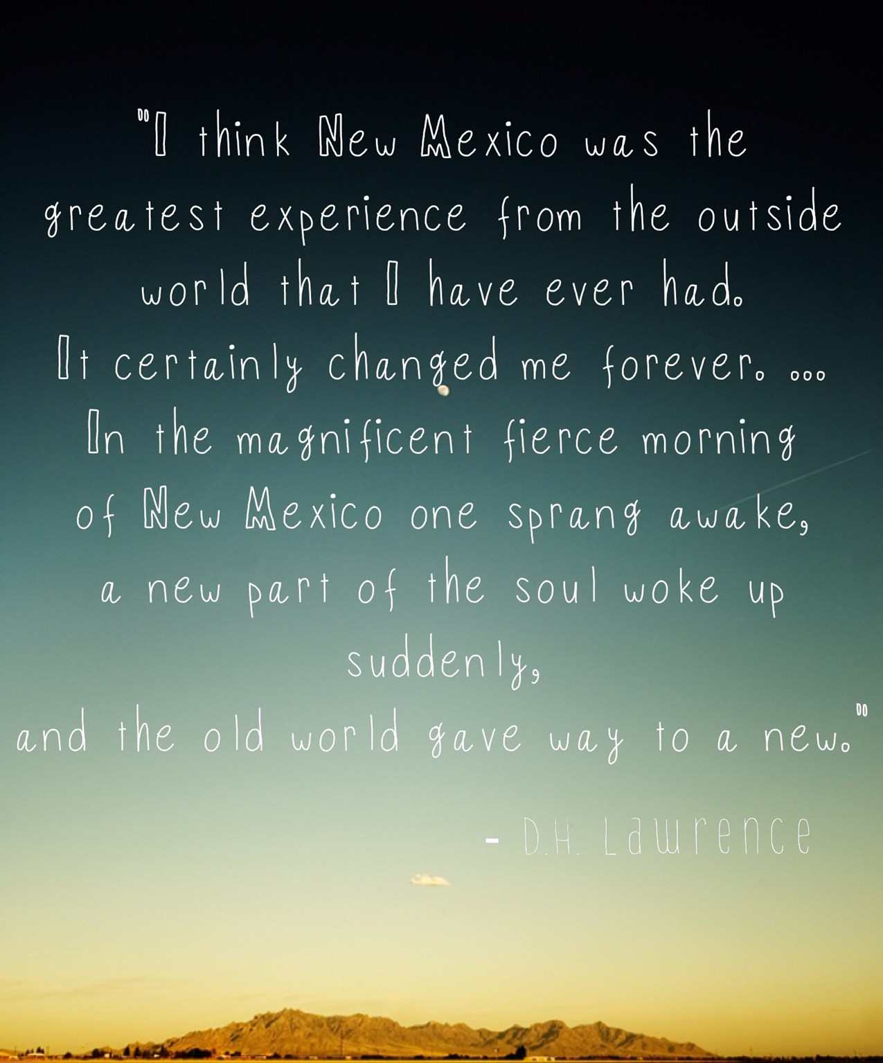Quotes About New Mexico Quotesgram