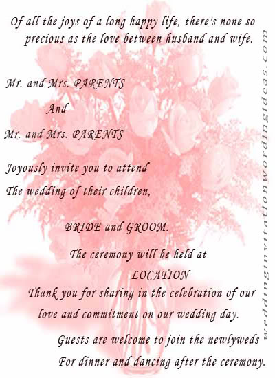 Collection Wedding Quotes For Card Pictures Weddings Center – Quotes for Invitation Cards