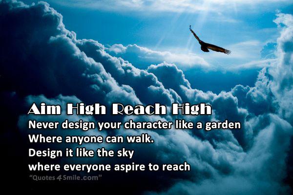 Aim High Motivational Quotes. QuotesGram