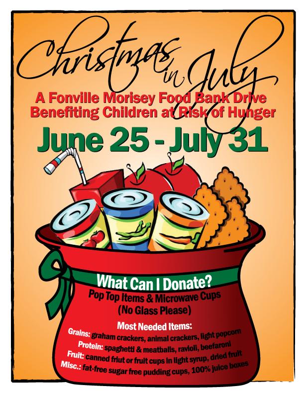 christmas food drive poster - photo #23