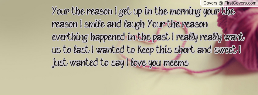 Your The Reason Quotes. QuotesGram