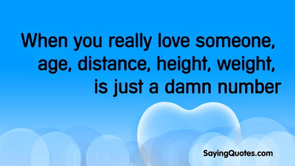 Just Number Age Love Quotes. QuotesGram