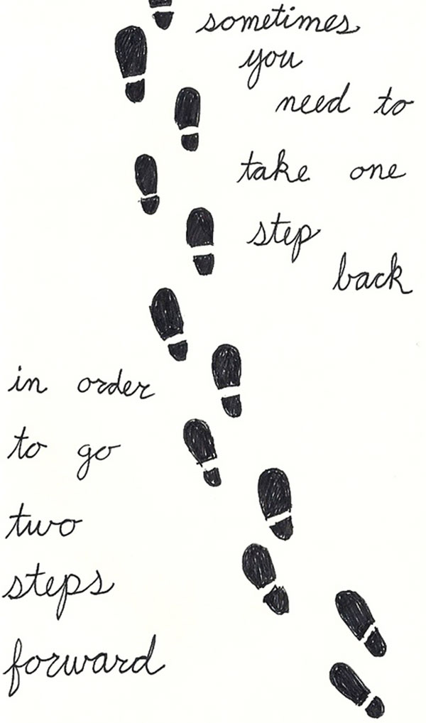 Quotes About Taking A Step Back. QuotesGram