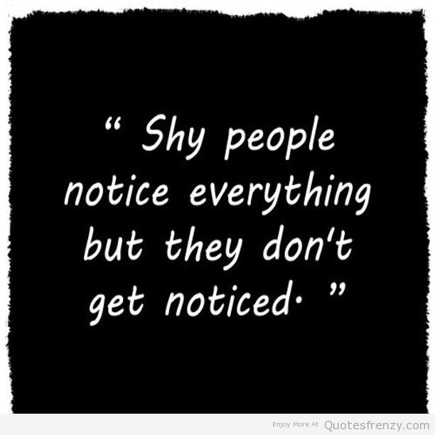 Qoutes About Being Shy: Funny Shy Quotes. QuotesGram
