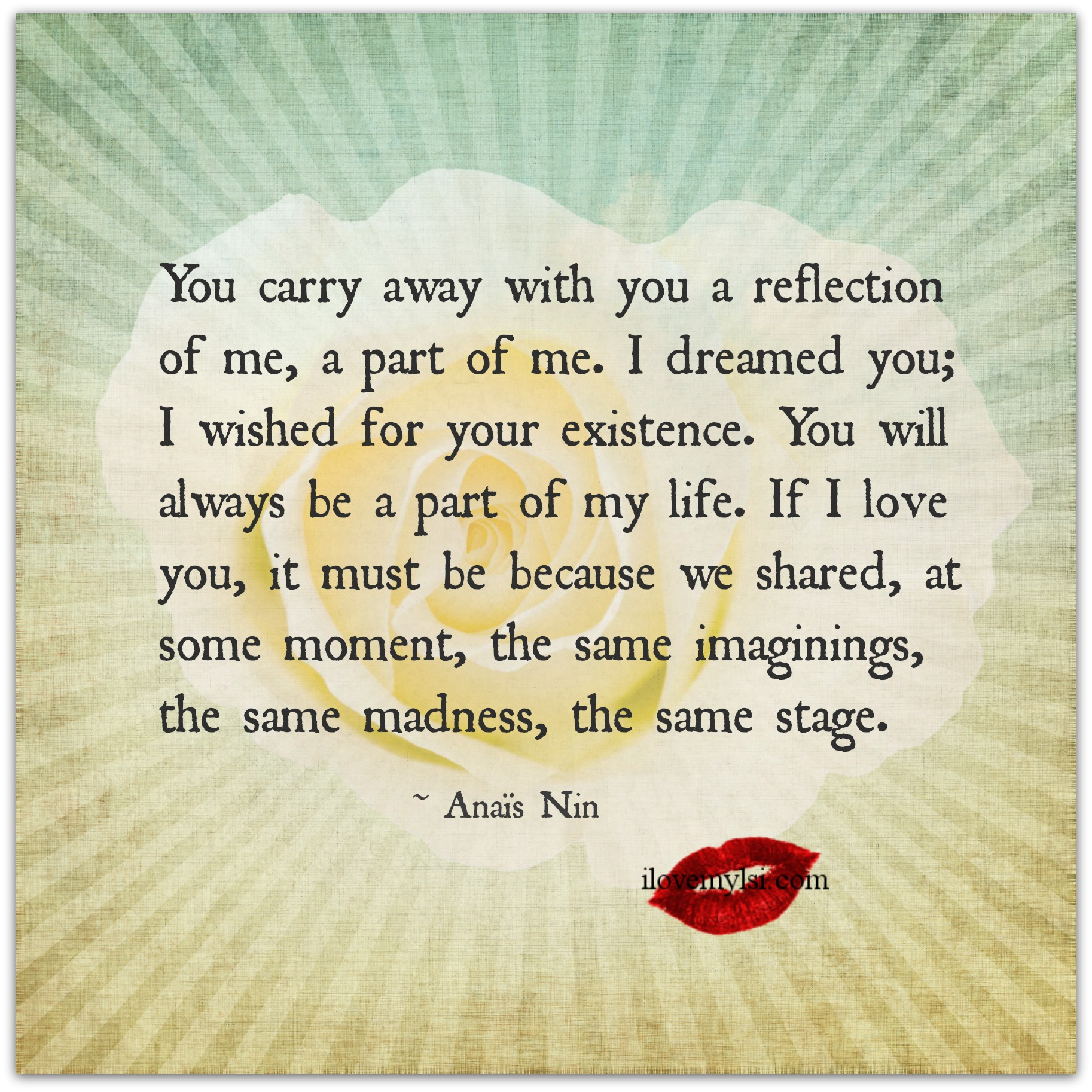 The 25 Most Romantic Love Quotes You Will Ever Read: Anais Nin Quotes Relationships. QuotesGram