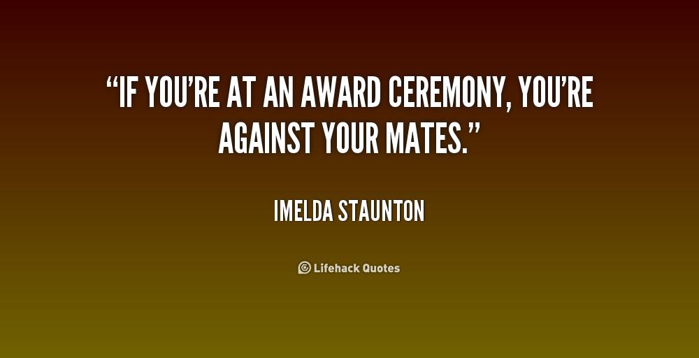 Award Quotes. QuotesGram
