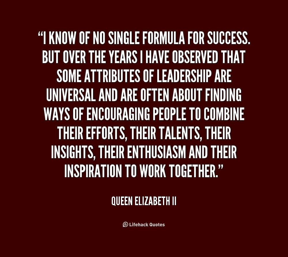 Queen Elizabeth Leadership Quotes. QuotesGram