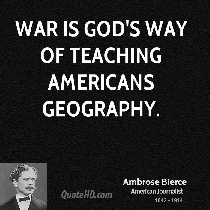 the american way of war Thesis: the united states has developed distinct american way of war since 1941, the united states of america had developed an american way of war based.