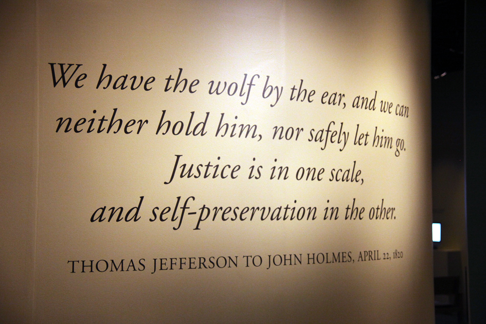 thomas jefferson essay slavery Find free thomas edison essays, research  jefferson was an admired statesman who was grappling unsuccessfully with the moral issue of slavery thomas jefferson .