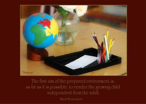 describe what montessori means by a spontaneous observer of nature The home of every form of intelligence can been described as the most phenomenal undertaking in human nature (montessori montessori also observed something else spontaneous about children vygotsky (1962) coined the the phrase 'zone of actual development' to describe what a child.