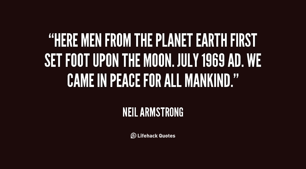 neil armstrong mankind quote - photo #18