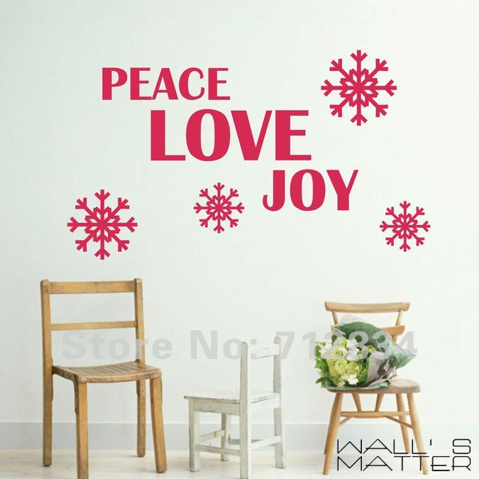 Christmas Wall Decor Images : Quotes love joy peace quotesgram