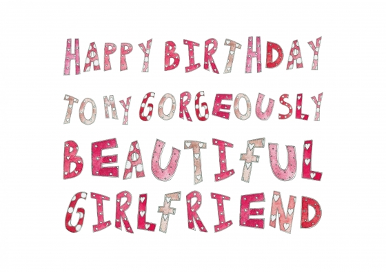 Happy Birthday Quotes For Girlfriend. QuotesGram