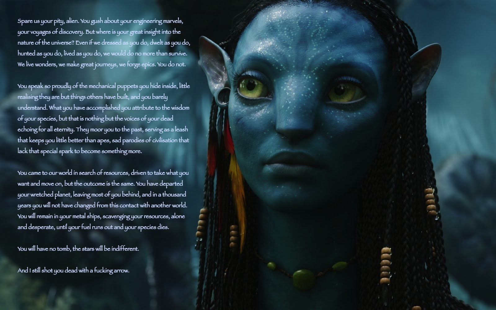 Famous Alien Quotes. QuotesGram