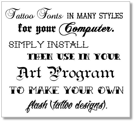Best Font For Tattoo Quotes. QuotesGram