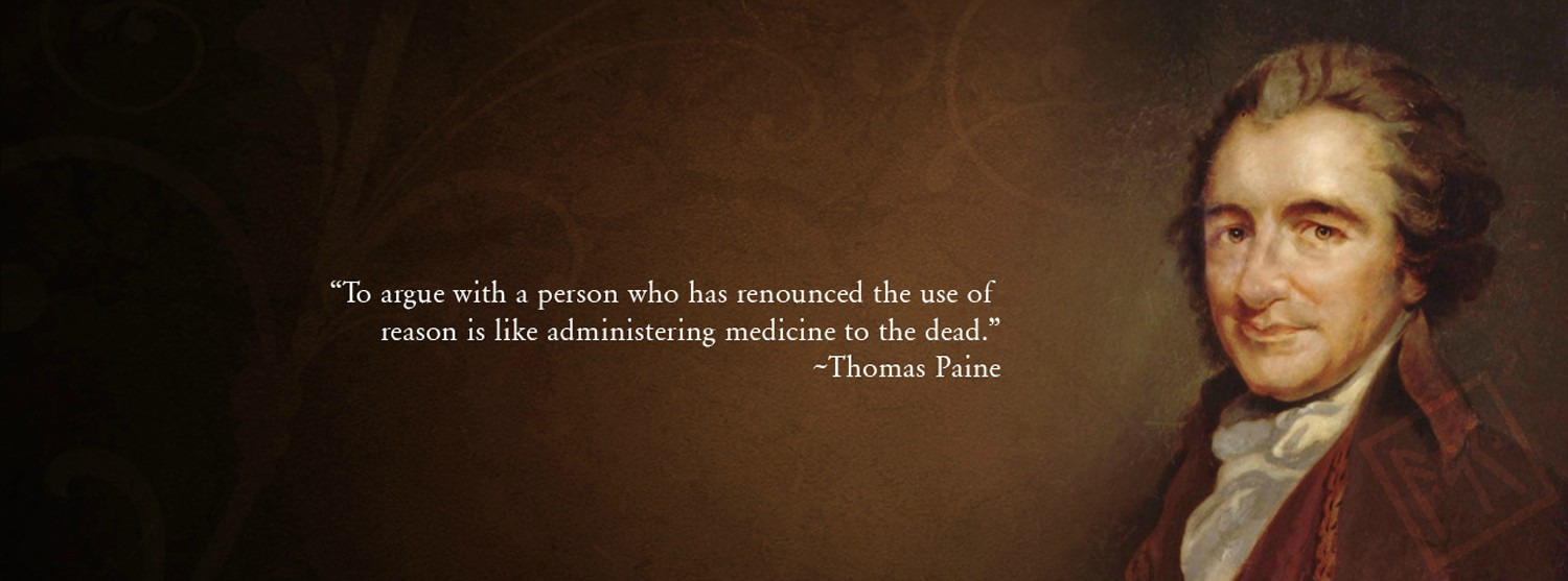 Freedom to patrick henry and thomas paine essay