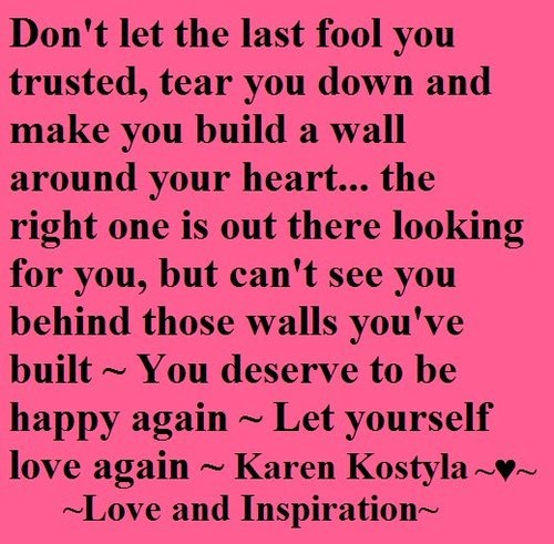 Love Finds You Quote: Let Yourself Love Quotes. QuotesGram