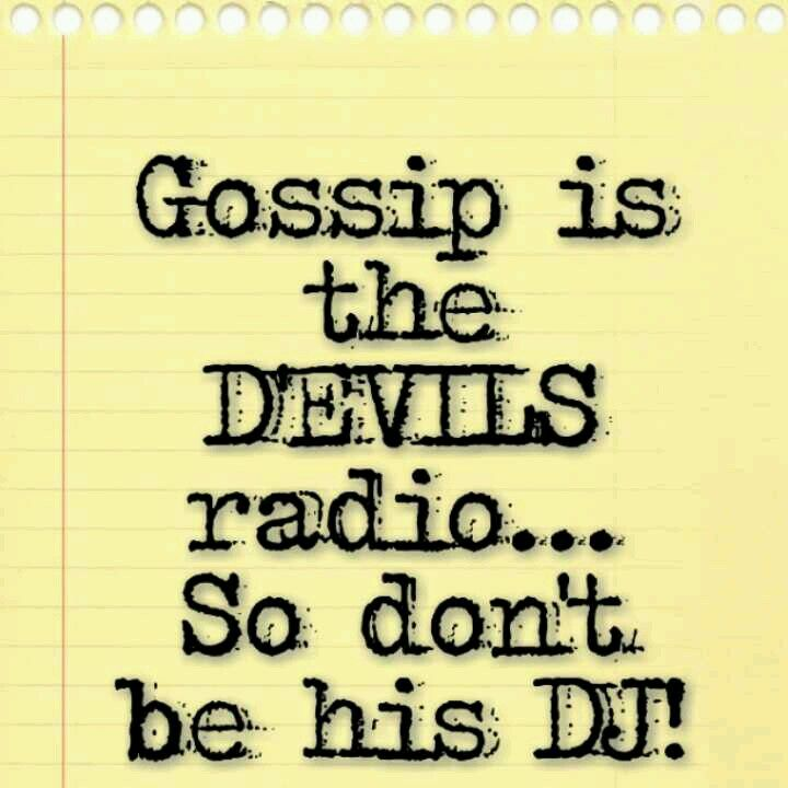 And God Quotes About Gossip. QuotesGram