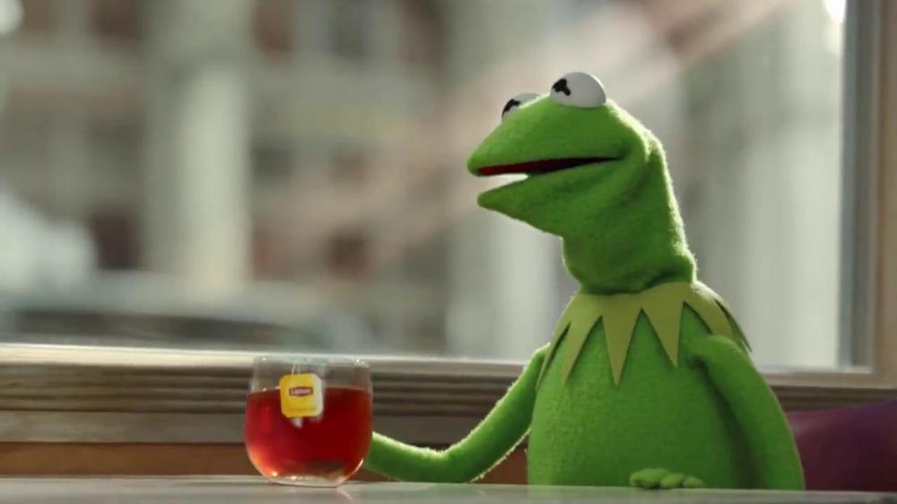 Kermit Drinking Tea Quotes. QuotesGram Kermit Drinking Picture