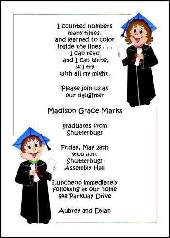 Preschool Graduation Quotes For Parents. QuotesGram