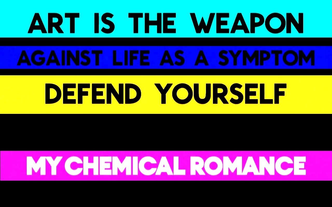 My Chemical Romance – Art Is The Weapon Lyrics - Genius