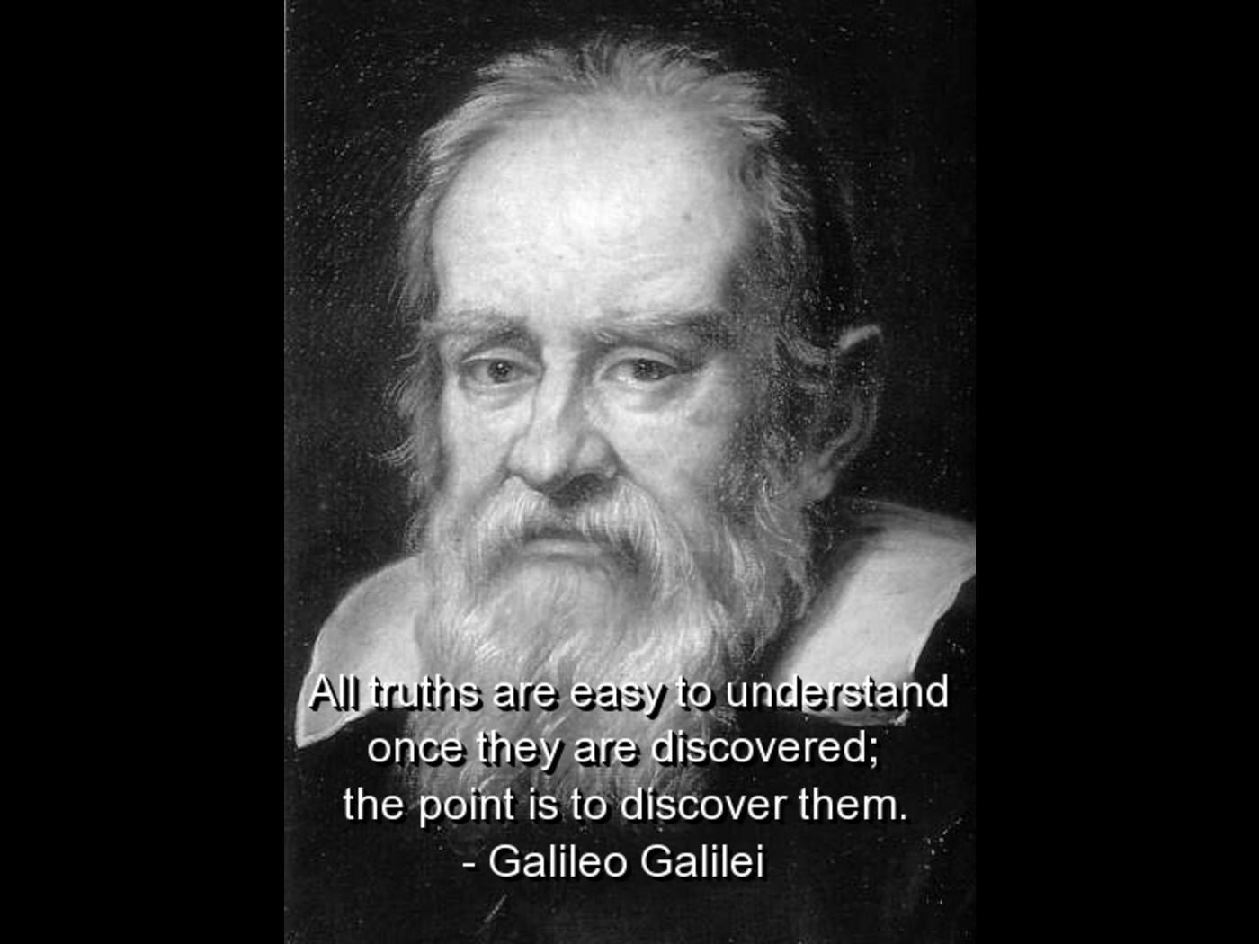 Galileo Galilei Passion Quotes. QuotesGram