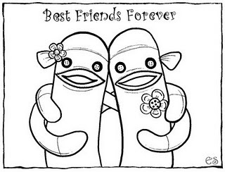 Best Friend Quotes Coloring Pages. QuotesGram