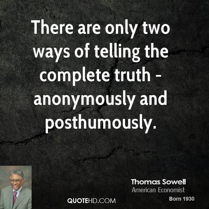 Thomas Sowell Quotes Parasite. QuotesGram