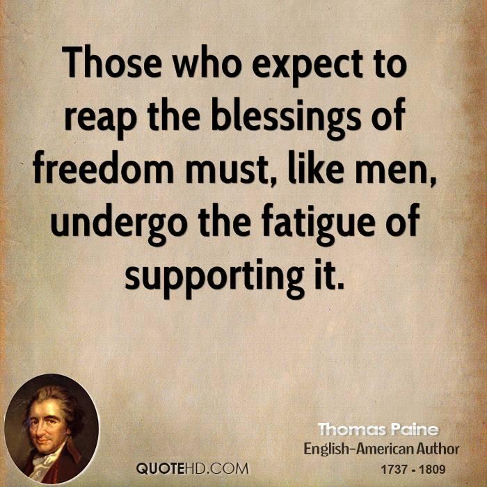 Thomas Paine Quotes: Thomas Paine Quotes About Freedom. QuotesGram