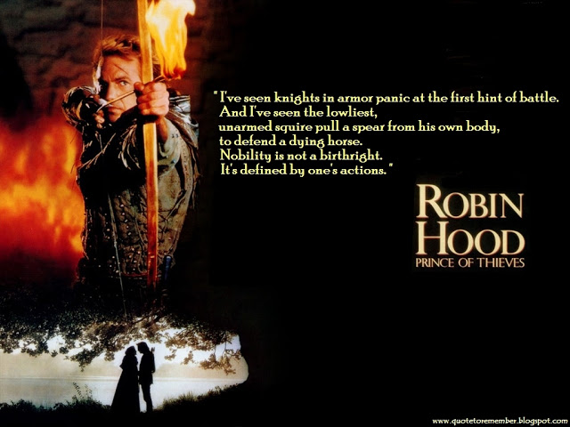 Real Life Hood Quotes: Robin Hood Quotes. QuotesGram