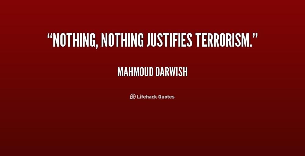 Terrorism Quotes Quotesgram