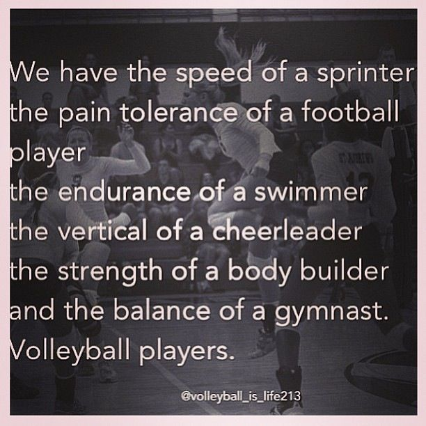 Motivational Team Quotes Volleyball: Inspirational Quotes For Volleyball Players. QuotesGram