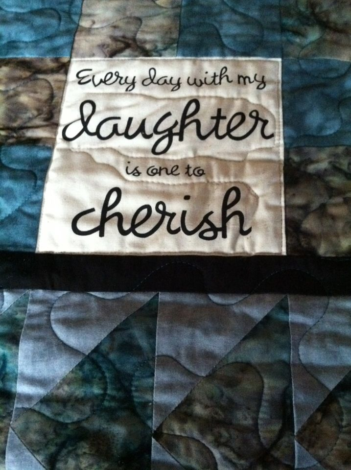 Quotes To Put On Quilts Quotesgram