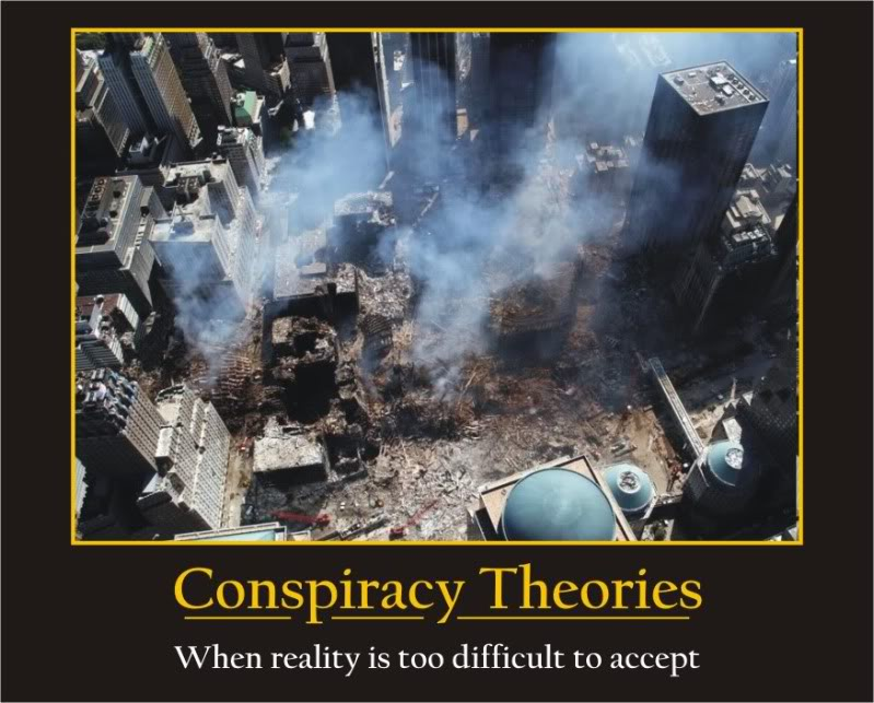 9/11 conspiracy theory essay America's fate was sealed when the public and the anti-war movement bought the government's 9/11 conspiracy theory the government's account of 9/11 is they received copies of a new 24-page booklet published by ny 9/11 truth, with help from 911truthorg scamming.
