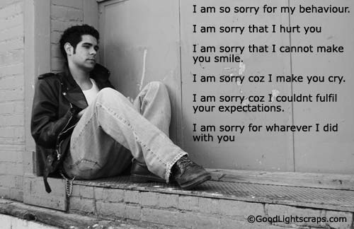 Im Sorry Baby Quotes. QuotesGram