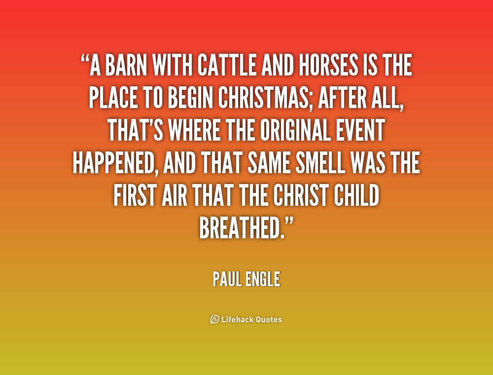 Quotes And Sayings: Barn Sayings And Quotes. QuotesGram