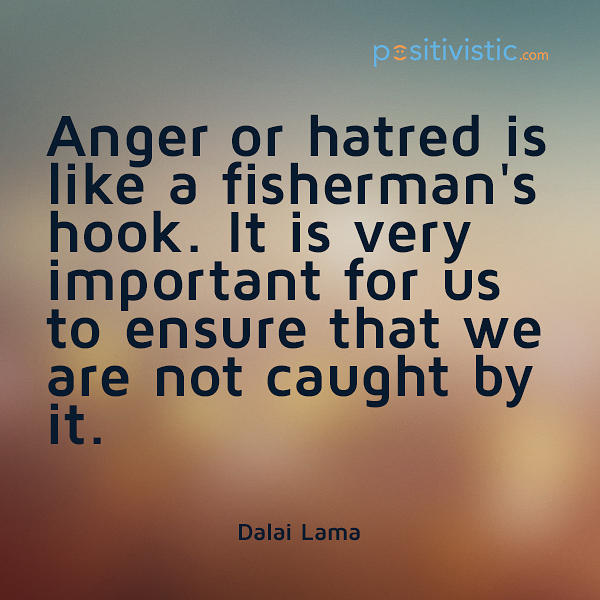 Quotes About Anger And Rage: Hatred Dalai Lama Quotes. QuotesGram